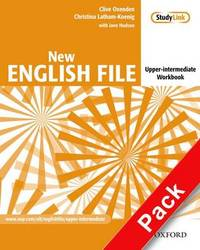 New English File: Upper-intermediate level: Workbook with Answer Booklet and MultiROM Pack by Christina Latham-Koenig