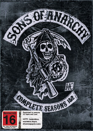 Sons of Anarchy - Seasons 1&2 (8 Disc Boxset) on DVD