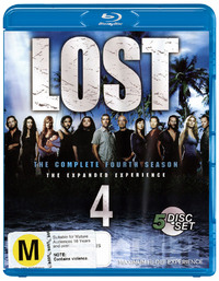 Lost - The Complete 4th Season: The Expanded Experience (5 Disc Set) on Blu-ray