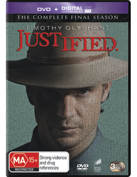 Justified - The Final Season on DVD