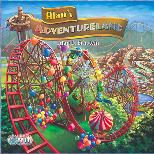 Alans Adventureland - Board Game