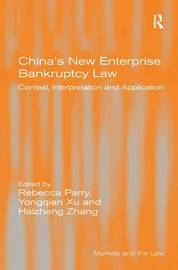 China's New Enterprise Bankruptcy Law by Yongqian Xu image