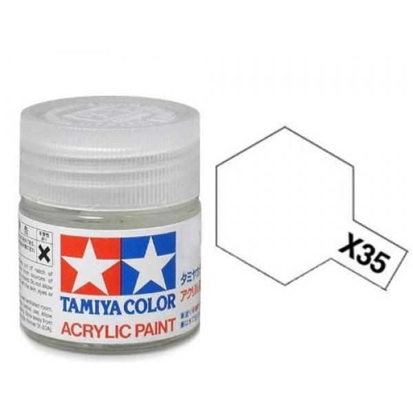 Tamiya Acrylic: Semi Gloss Clear (X35)