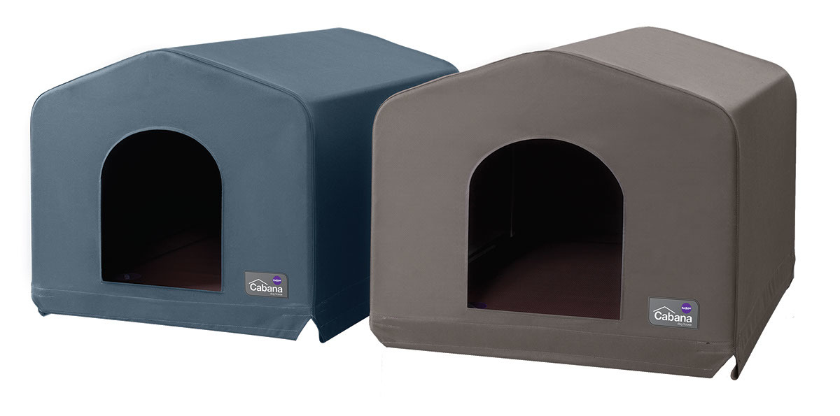 Kazoo: Cabana Outdoor Dog House - Cobalt (Medium) image