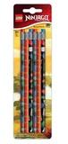 LEGO Ninjago: Pencil Set - 6-Pack
