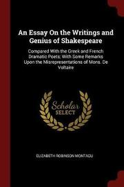 An Essay on the Writings and Genius of Shakespeare by Elizabeth Robinson Montagu image