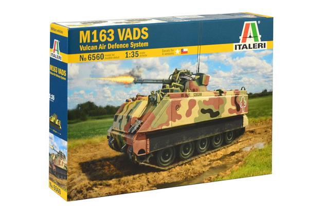 Italeri 1/35 M163 Vads Vulcan - Scale Model Kit