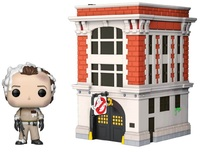 Ghostbusters: Peter Venkman & Firehouse - Pop! Town Diorama Set image