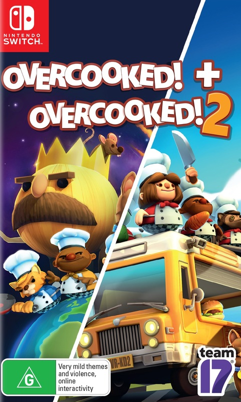 Overcooked + Overcooked 2 Double Pack for Switch