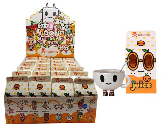 Tokidoki: Moofia Breakfast Friends - Mini-Figure (Blind Box)