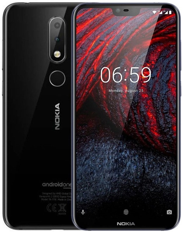 Nokia 6.1 Plus Dual SIM (64GB/4GB RAM) - Black