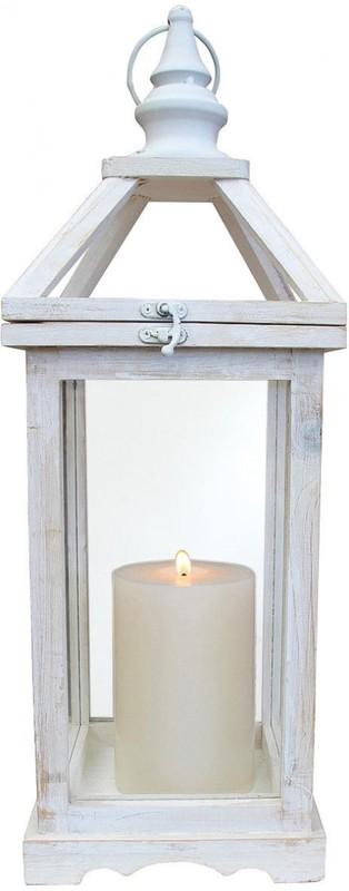 LaVida: Lantern - White Wash