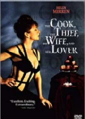 The Cook, The Thief, His Wife and Her Lover on DVD