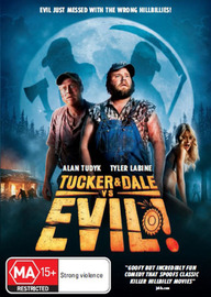 Tucker and Dale Vs Evil on DVD