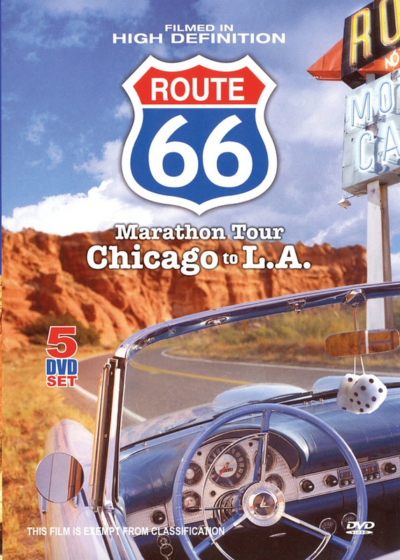 Route 66 - Marathon Tour: Chicago To L.A. (5 Disc Box Set) on DVD