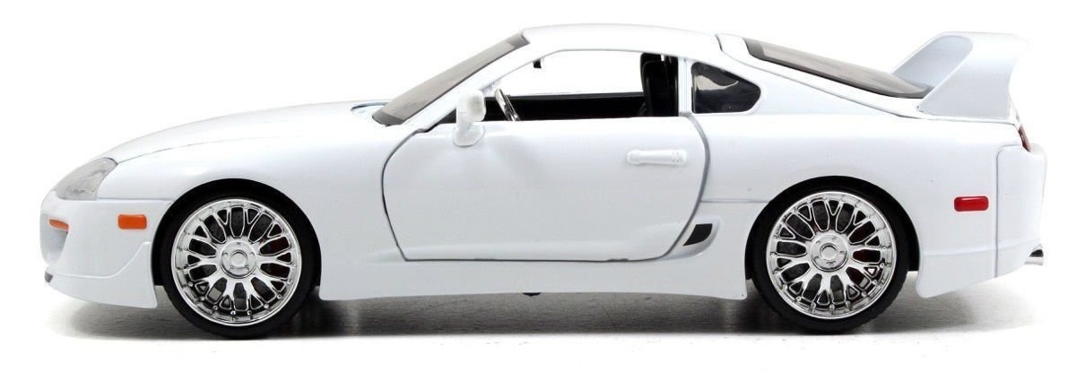 Jada: 1/24 Brian's Supra (White) - Diecast Model image