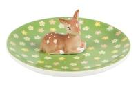 Floral Fawn - Trinket Dish image