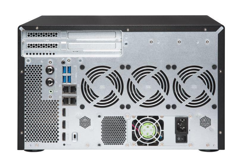 Qnap Tvs-882Br-Odd-I7-32G 8-Bay Nas (No Disk), 1 X Blu-Ray , Core I7-7700 3.6 Ghz, 32Gb, 250W image