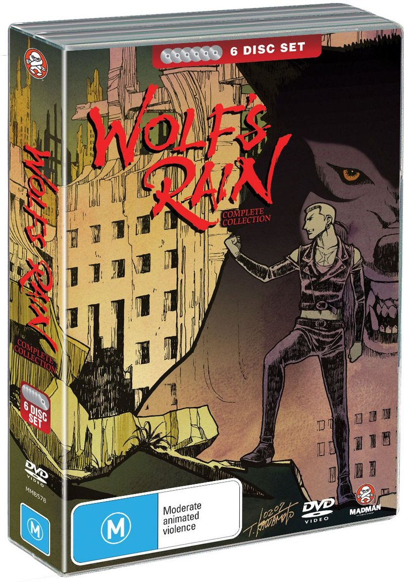 Wolf's Rain - Complete Collection (6 Disc Fatpack) on DVD image
