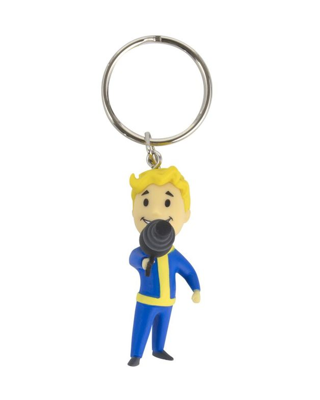 Fallout 76: Vault Boy Energy Weapons 3D Keychain