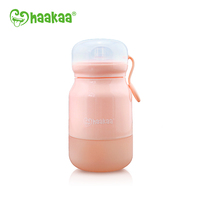 Haakaa: Silicone Sippy Bottle - Pink (350ml) image