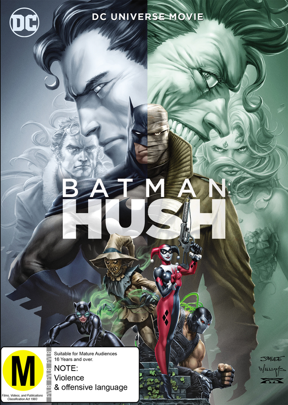 Batman - Hush on DVD