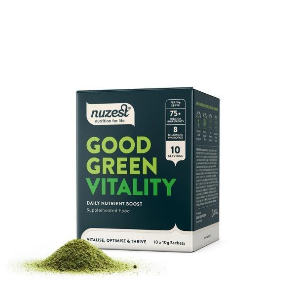 Nuzest: Good Green Vitality Sachets (10x10g)