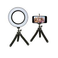 LED Selfie Ring Light - Black (26cm)