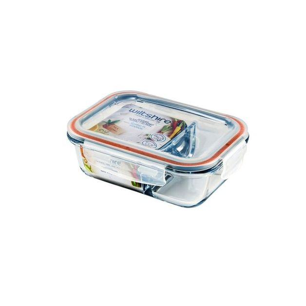 Wiltshire: Rectangle Glass Container - 600ml