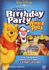 It's Your Birthday Party With Winnie The Pooh on DVD