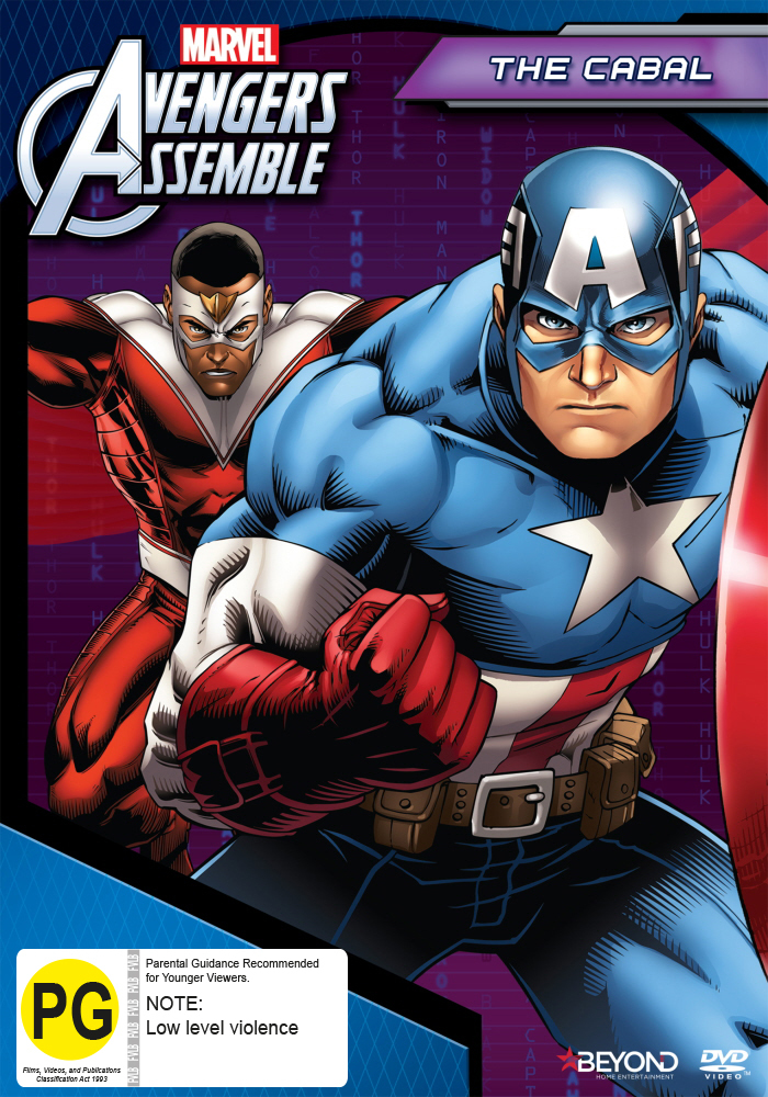 Avengers Assemble: The Cabal on DVD image