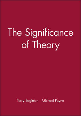 The Significance of Theory by Terry Eagleton image