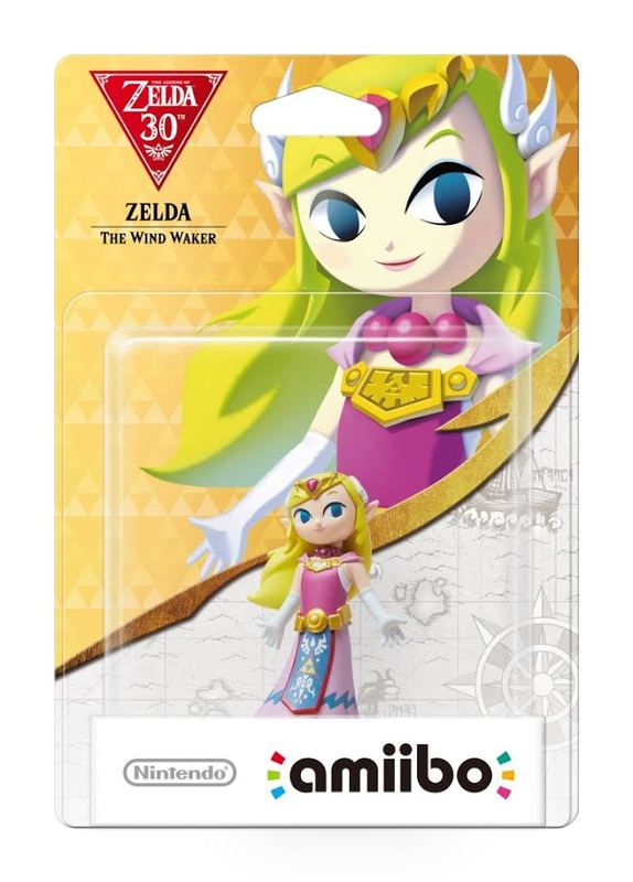 Nintendo Amiibo Wind Waker Zelda - Zelda Collection for Wii U