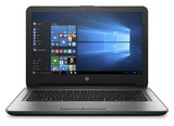 "14"" HP 14-AN009AU AMD E-Series Laptop (Silver)"