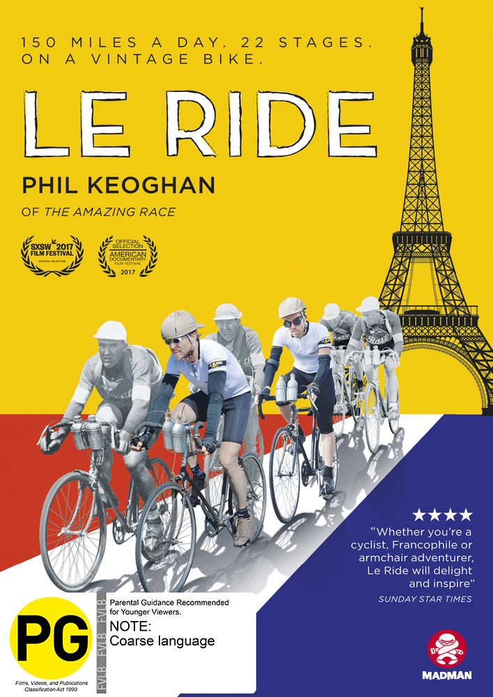 Le Ride on DVD image