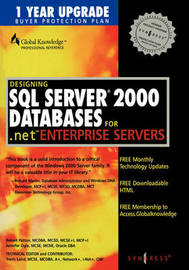 Designing SQL Server 2000 Databases by Syngress image