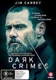 Dark Crimes on DVD