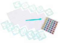 Crayola: Glitter Dots - Stencil Stickers Craft Kit image
