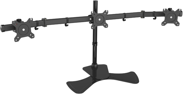 Gorilla Arms: Triple Freestanding Monitor Mount