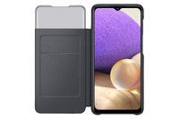 Samsung A32 5G Smart S View Wallet Cover - Black