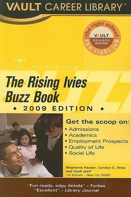 Vault Rising Ivies Buzz Book by Stephanie Hauser image