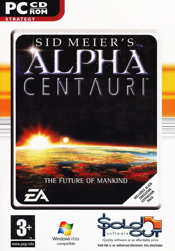 Sid Meier's Alpha Centauri (includes Crossfire expansion pack!) for PC Games
