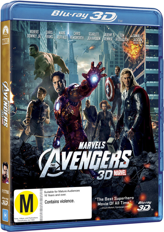 The Avengers 3D on Blu-ray, 3D Blu-ray