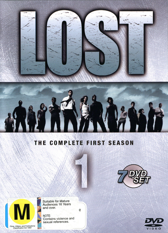 Lost - The Complete 1st Season (7 Disc Slimline Set) on DVD