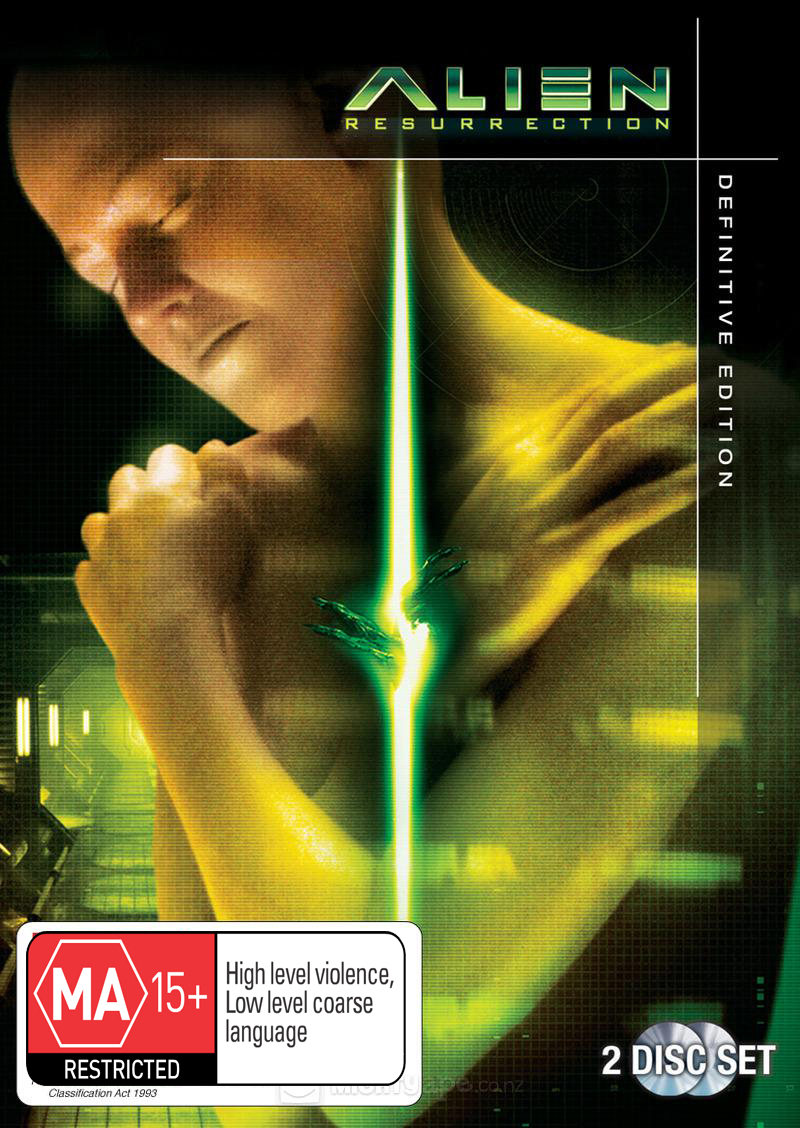Alien Resurrection - Definitive Edition on DVD image