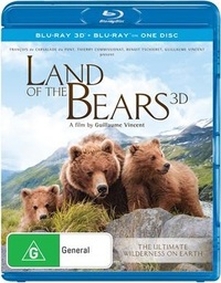 Land of the Bears on Blu-ray, 3D Blu-ray