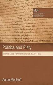 Politics and Piety by Aaron Menikoff