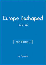 Europe Reshaped by JAS Grenville image