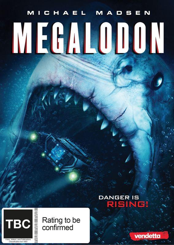 Megalodon on DVD