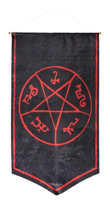 Supernatural - Devil's Trap Symbol Banner